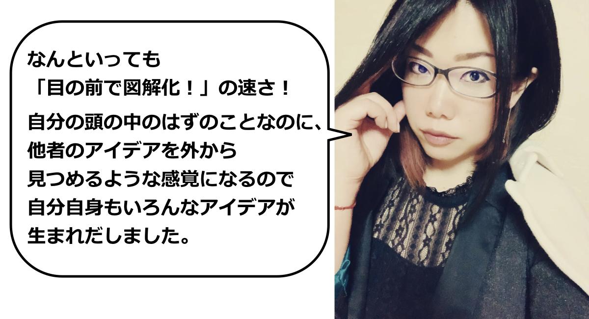 渡邉まきさんの感想をいただきました!